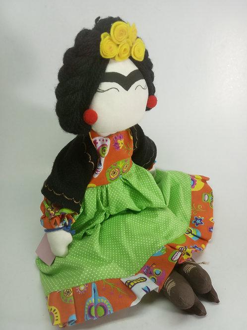 Boneca Tilda - Frida Kahlo