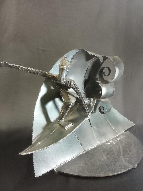 Escultura de ferro Surfista - Mark Fonser