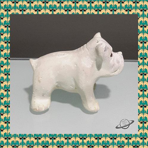 Escultura Antiga English Bulldog