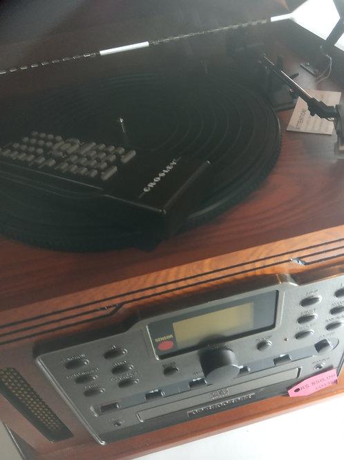 Aparelho de som Crosley - LP K7 CD CDgravador
