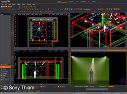 Pre-lighting studio VR