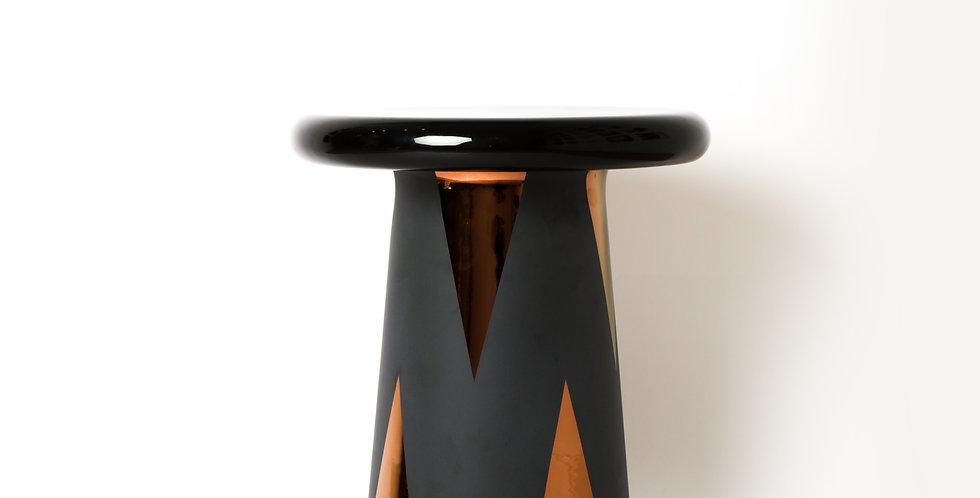 T-TABLE BLACK & COPPER
