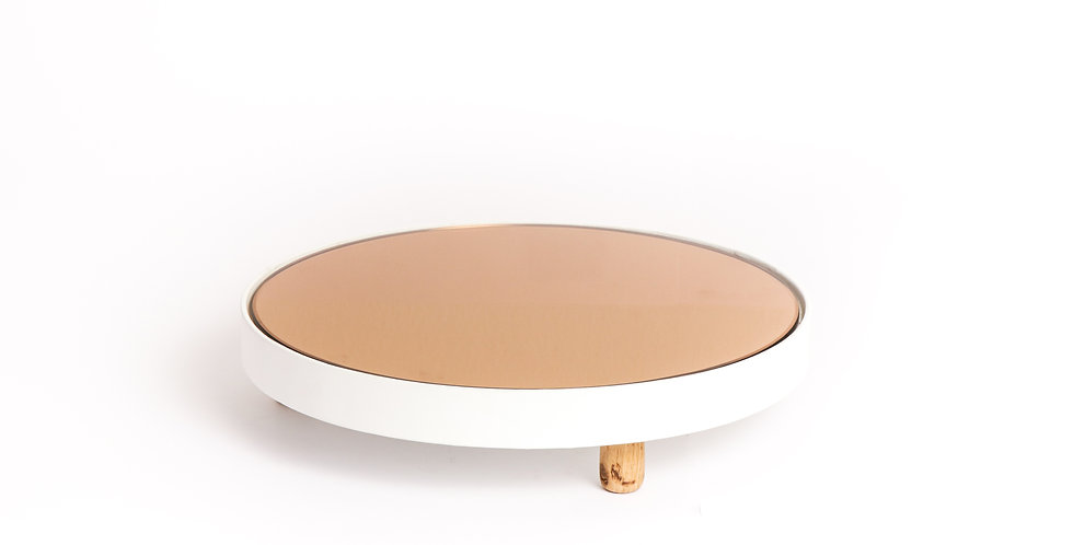 MIRROR TRAY ROUND STUDIO