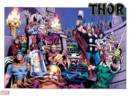 THOR IS BACK AND LOOKING OH SO GOOD.