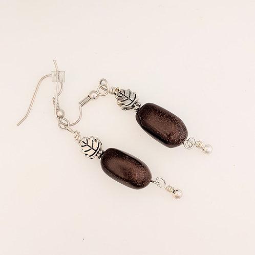 Chocolate Jasper Earrings