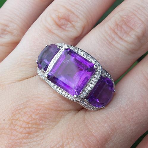 Philena Amethyst Ring