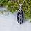 Thumbnail: Bridge Tower Oval Necklace