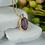 Thumbnail: Amethyst & Diamond Designer Necklace