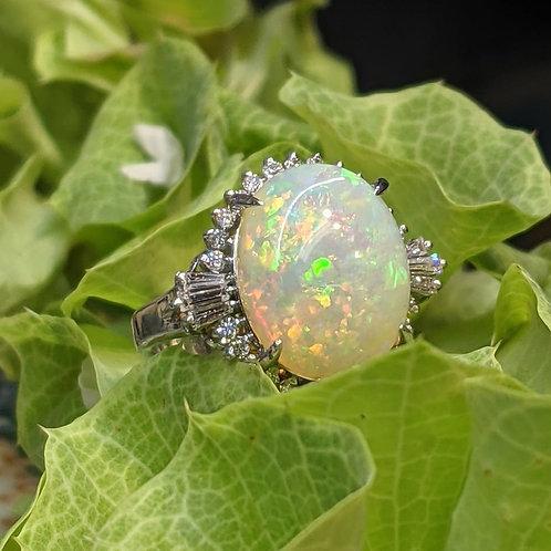 Heirloom Opal Ring