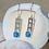 Thumbnail: Mackinac Bridge Tower Earrings