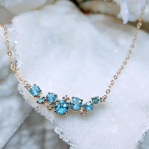 Icelyn Topaz Necklace