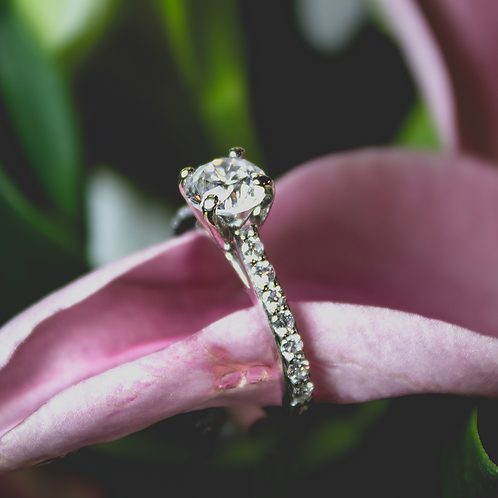 Madeline Diamond Ring