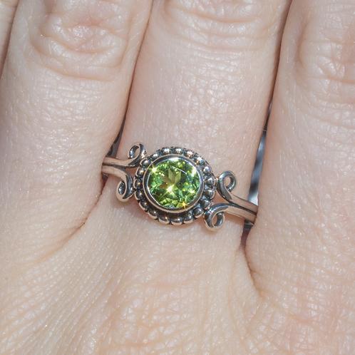 Sylvia Peridot Ring