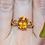 Thumbnail: 14kt Gold Citrine Ring