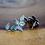 Thumbnail: Tsavorite Garnet Pine Cone Earrings