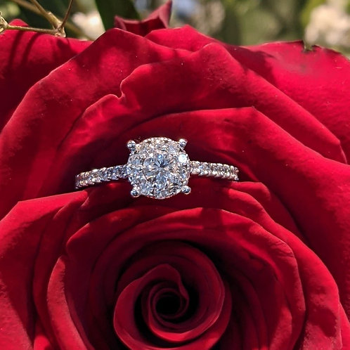 Georgiana Diamond Ring