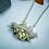 Thumbnail: Honey Citrine & Peridot Bridge Necklace