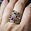 Thumbnail: Grape Garnet Wrap Ring