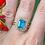 Thumbnail: Vita Blue Topaz Ring