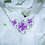 Thumbnail: Sterling Silver Lilac Cluster Pendant