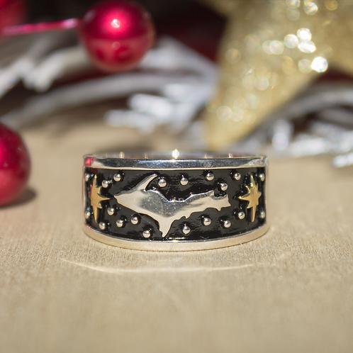 U.P. Sterling Silver Ring
