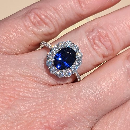 Maraly Lab Sapphire Ring