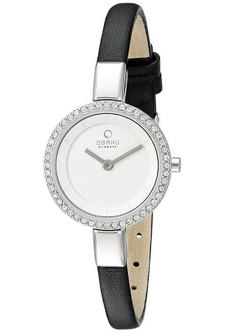 Obaku Swarovski Crystal Women's Watch