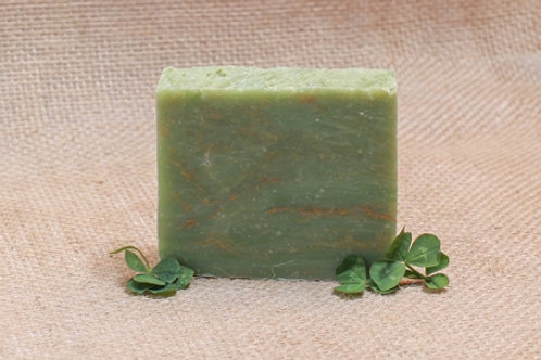 Sweetgrass and Green Clover Field Soap Bar