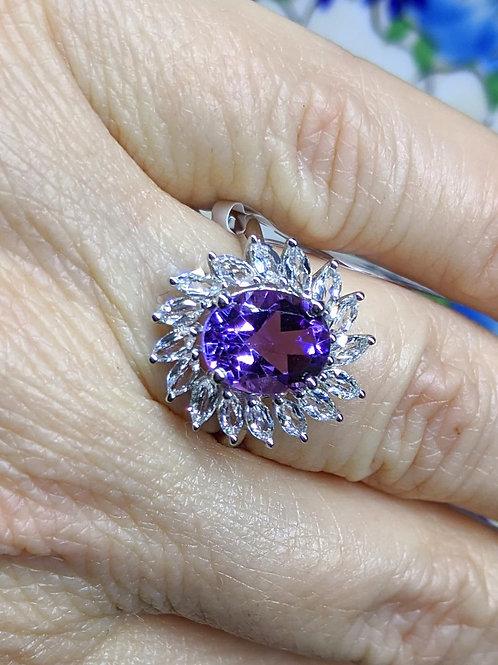Anniera Amethyst Ring