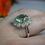 Thumbnail: 6ct Green Flourite Ring