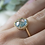 Thumbnail: Faceted Blue Topaz Ring