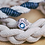 Thumbnail: Blue Spinel Wave Bead