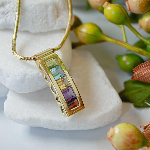 Vintage Gemstone Necklace