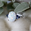 Thumbnail: Oval Opal Ring in Sterling Silver