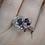 Thumbnail: Multi-Color Pink Tourmaline Ring