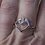 Thumbnail: 10 kt Gold Bridge to Her Heart  Tower Ring