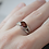 Thumbnail: Sterling Silver Garnet Ring