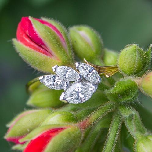 Liliana Diamond Marquise Ring