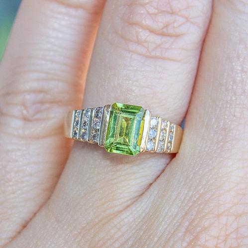 Aenea Peridot Ring