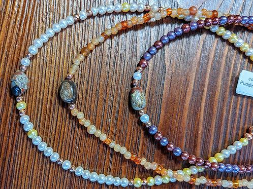 Kids Pudding Stone Necklace