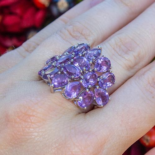 Zafrina Amethyst Ring