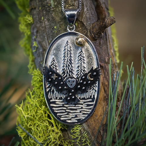 Nighttime Visitor Necklace