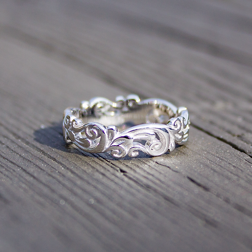 Floral Wave Band