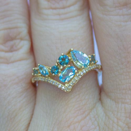 Margaery Blue Topaz Ring