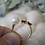 Thumbnail: Pearl & Garnet Ring