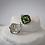 Thumbnail: Tsavorite Garnet & Black Diamond Earrings