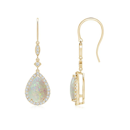 Alba Opal Earrings
