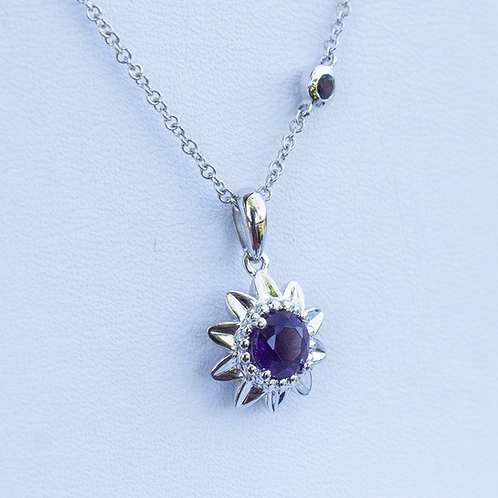 Madia Amethyst Necklace