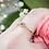 Thumbnail: Emerald Cut Diamond Ring in Yellow Gold