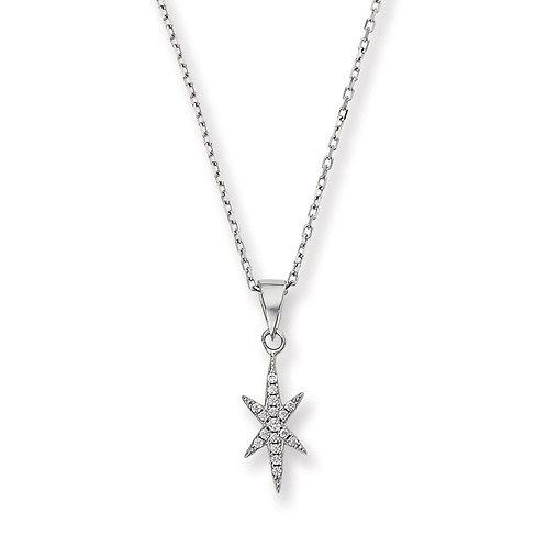 Northern Star Diamond Necklace